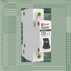 Автоматический выключатель 1P 32А (C) 4