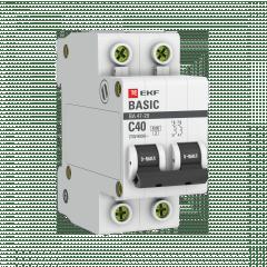 Автоматический выключатель 2P 40А (C) 4