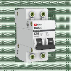 Автоматический выключатель 2P 50А (C) 4
