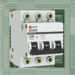 Автоматический выключатель 3P 20А (C) 4