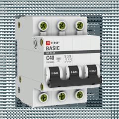 Автоматический выключатель 3P 40А (C) 4