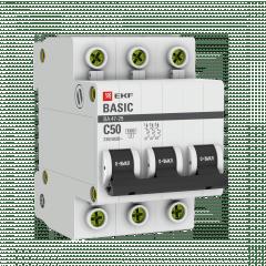 Автоматический выключатель 3P 50А (C) 4