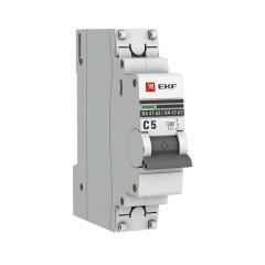 Автоматический выключатель 1P  5А (D) 4