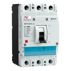 Автоматический выключатель AV POWER-1/3 100А 50kA ETU2.2