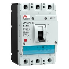Автоматический выключатель AV POWER-2/3 250А 50kA ETU2.2