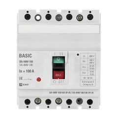 Выключатель автоматический ВА-99М  100/100А 3P+N 35кА EKF PROxima