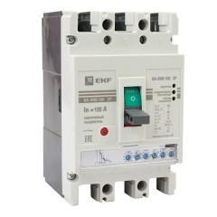 Выключатель автоматический ВА-99М  100/100А 3P 50кА с электронным расцепителем EKF PROxima