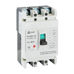 Выключатель автоматический ВА-99МL  100/ 40А3P18кАEKF Basic