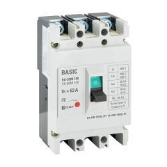Выключатель автоматический ВА-99М  100/63А 3P 35кА с электромагнитным расцепителем EKF PROxima
