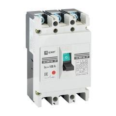 Выключатель автоматический ВА-99М  100/ 80А 3P 35кА EKF PROxima