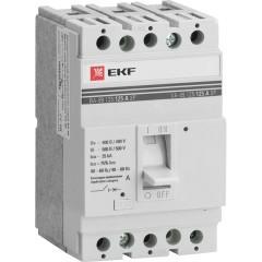 Выключатель автоматический ВА-99  125/ 25А 3P 25кА EKF PROxima