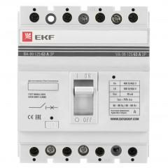 Выключатель автоматический ВА-99  125/ 63А 4P 25кА EKF