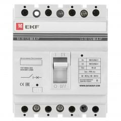 Выключатель автоматический ВА-99  125/ 80А 4P 25кА EKF PROxima