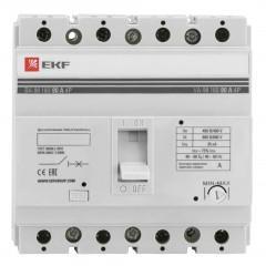 Выключатель автоматический ВА-99  160/ 80А 4P 35кА EKF PROxima