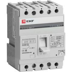 Выключатель автоматический ВА-99  160/ 80А 3P 35кА EKF PROxima