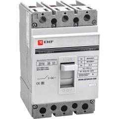 Автоматический выключатель ВА-99  250/100А 3P 35кА без коннекторов EKF PROxima