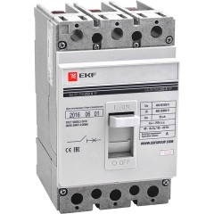 Автоматический выключатель ВА-99  250/200А 3P 35кА без коннекторов EKF PROxima