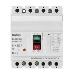 Выключатель автоматический ВА-99М  250/200А 3P+N 35кА EKF PROxima