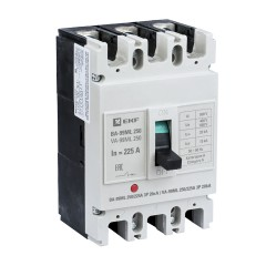 Автоматический выключатель ВА-99МL 250/225А 3P 20кА EKF Basic