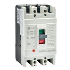 Автоматический выключатель ВА-99МL   63/100А 3P 15кА EKF Basic