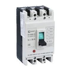 Автоматический выключатель ВА-99МL   63/ 20А 3P 15кА EKF Basic