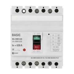 Выключатель автоматический ВА-99М  630/630А 3P+N 50кА EKF PROxima