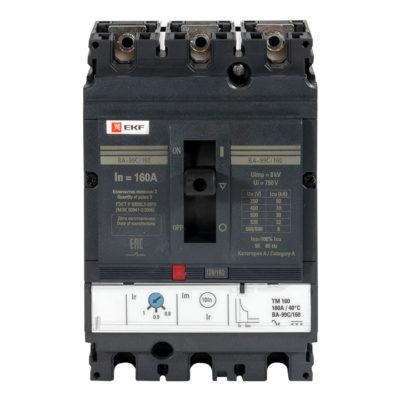 Выключатель автоматический ВА-99C (Compact NS) 160/25А 3P 36кА EKF PROxima