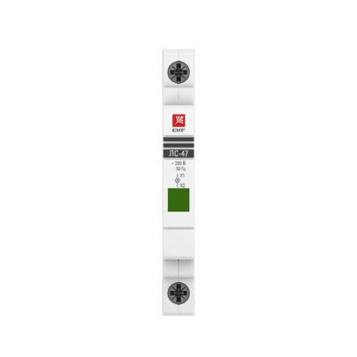 Лампа сигнальная ЛС-47 (зеленая) EKF PROxima; mdla-47-g-pro
