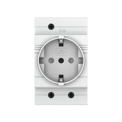 Розетка РДЕ-47 240В (под евро вилку с заземлением) EKF PROxima ; mdse-47-pro
