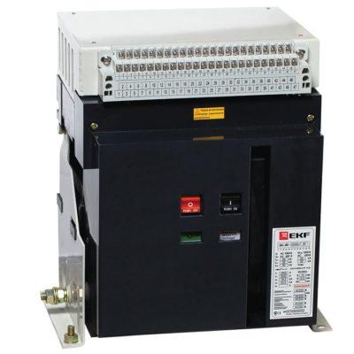 Выключатель нагрузки ВН-45 2000/2000А 3P стационарный с эл. приводом EKF PROxima; nt45-2000-2000-p