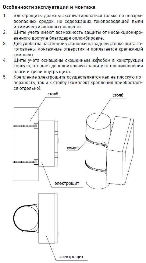 Osobennosti Jekspluatacii I Montazha Shhu Ip54 Basic
