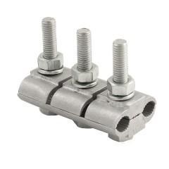 Зажим соединительный плашечный 3 болта М6 (D провода 9
