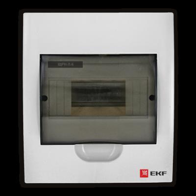 Щит распред. навесной ЩРН-П- 6 IP41 EKF PROxima; pb40-n-6