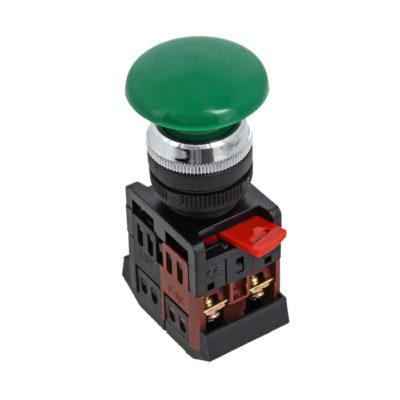 Кнопка AEA-22 зеленая NO+NC Грибок EKF PROxima; pbn-aea-g