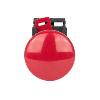 Кнопка AEAL-22  красная с фиксацией NO+NC Грибок EKF PROxima; pbn-aeal-r