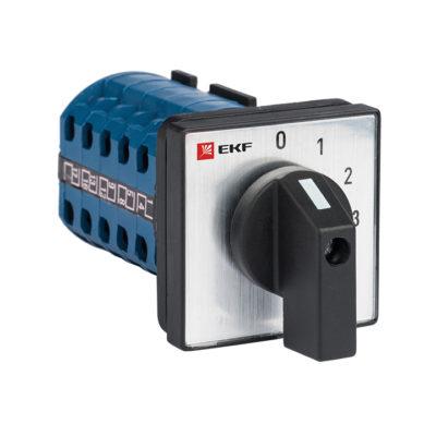 Переключатель кулачковый ПК-1-101 10А 1P «0-1-2-3» EKF PROxima; pk-1-101-10