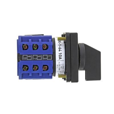 Переключатель кулачковый ПК-1-64 10А для вольтметра EKF PROxima; pk-1-64-10