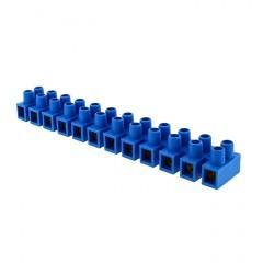 Колодка клеммная (12мм.) 16А полистирол синяя (10шт.) EKF PROxima