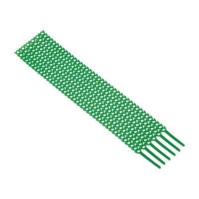 Хомут гибкий (20 шт.) зеленый FlexSTRAP EKF; plc-fs-gr