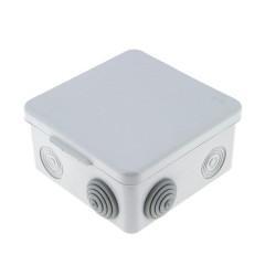 Коробка распаячная  КМР-030-031 с крышкой наружная (80х80х50) 7 мембранных вводов IP54 EKF PROxima