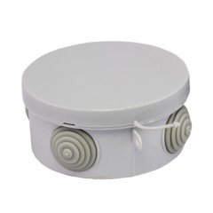 Коробка распаячная КМР-040-039 с крышкой наружная (85х40) 4 мембранных ввода IP54 EKF PROxima