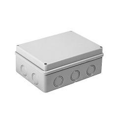 Коробка распаячная КМР-050-046 пылевлагозащищенная без мембранных вводов (190х140х70) EKF PROxima