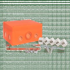 Коробка распаячная огнестойкая (176х126х74) 5 двойных кк/1