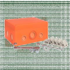 Коробка распаячная огнестойкая (176х126х74) 5 кк/1