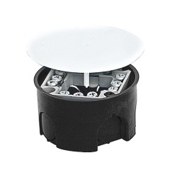 Коробка распаячная КМТ-010-019 для подштукатурного монтажа с клеммником и крышкой (74х42) EKF PROxima