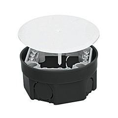 Коробка распаячная КМТ-010-021 для подштукатурного монтажа с клеммником и крышкой КМТ-010-021 (103х50) EKF PROxima