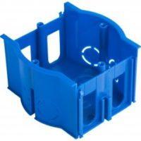 Коробка установочная сборная проходная КМТ-010-4007 для твердых стен (71х45) с саморезами EKF