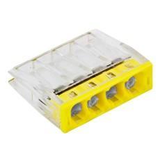 Строительно-монтажные клеммы СМК-2273 компактные (с пастой)