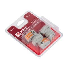 Строительно-монтажные клеммы СМК-222 в блистерной упаковке