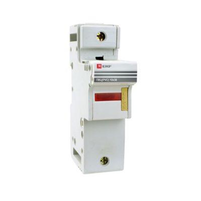 Предохранитель-разъединитель для ПВЦ 10x38 1P (с индикацией) EKF PROxima; pr-10-38-1